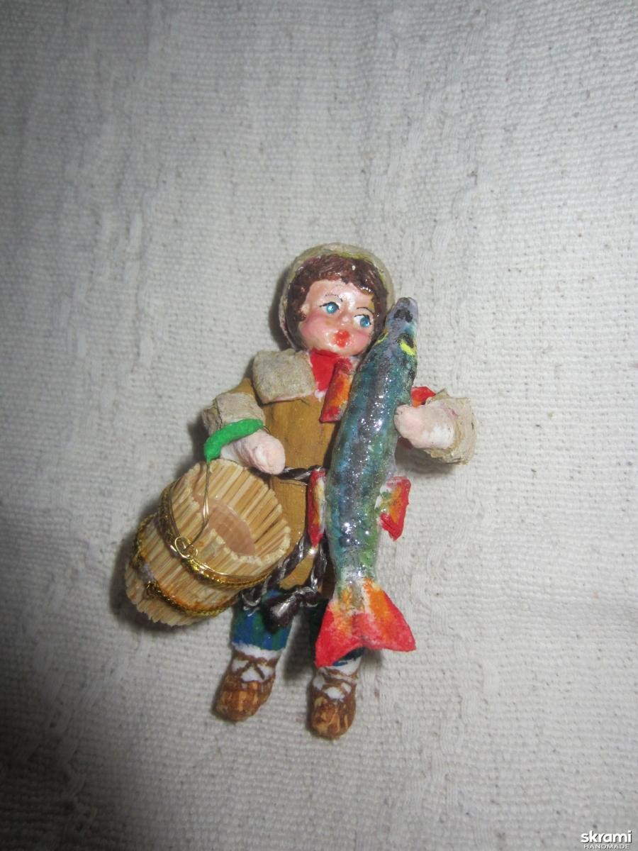 тут изображено елочные игрушки ручной работы