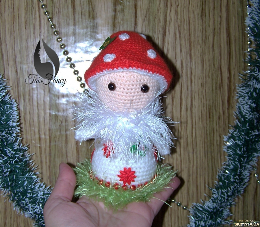 pictured here Snowman Fly agaric