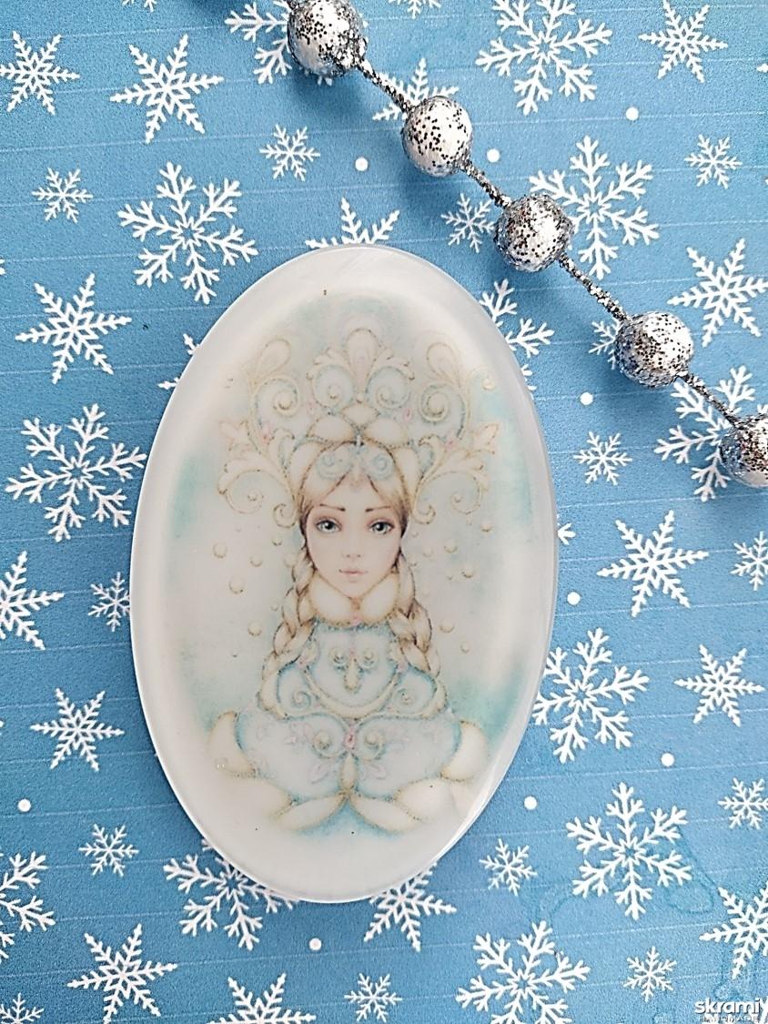 тут изображено Мыло ′Снегурушка′
