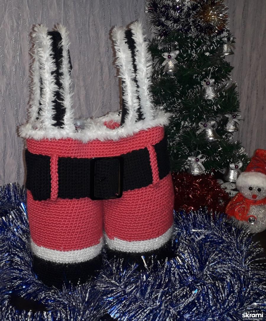 тут изображено Штанишки Деда Мороза