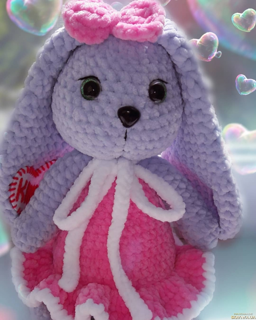 pictured here soft toy bunny.