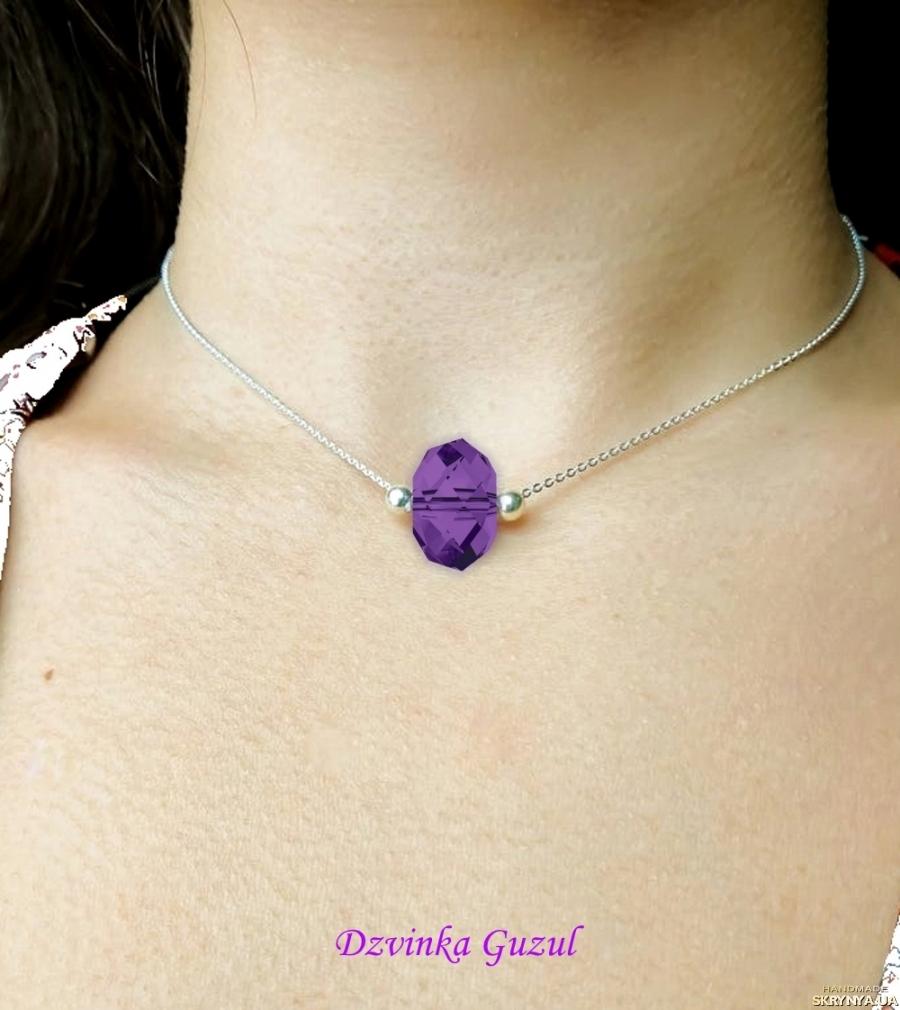 pictured here  Pendant Silver Bracelet pearls Jewelry handmade Pandora Swarovski crystals