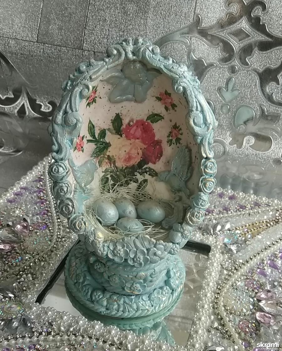 тут изображено Пасхальный сувенир ′Пасхальное гнездо′