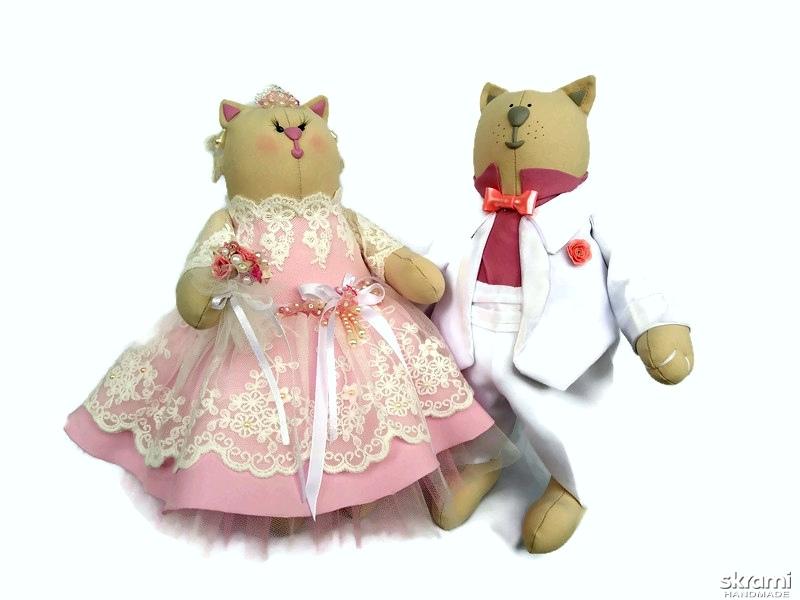 тут изображено Свадебные котики