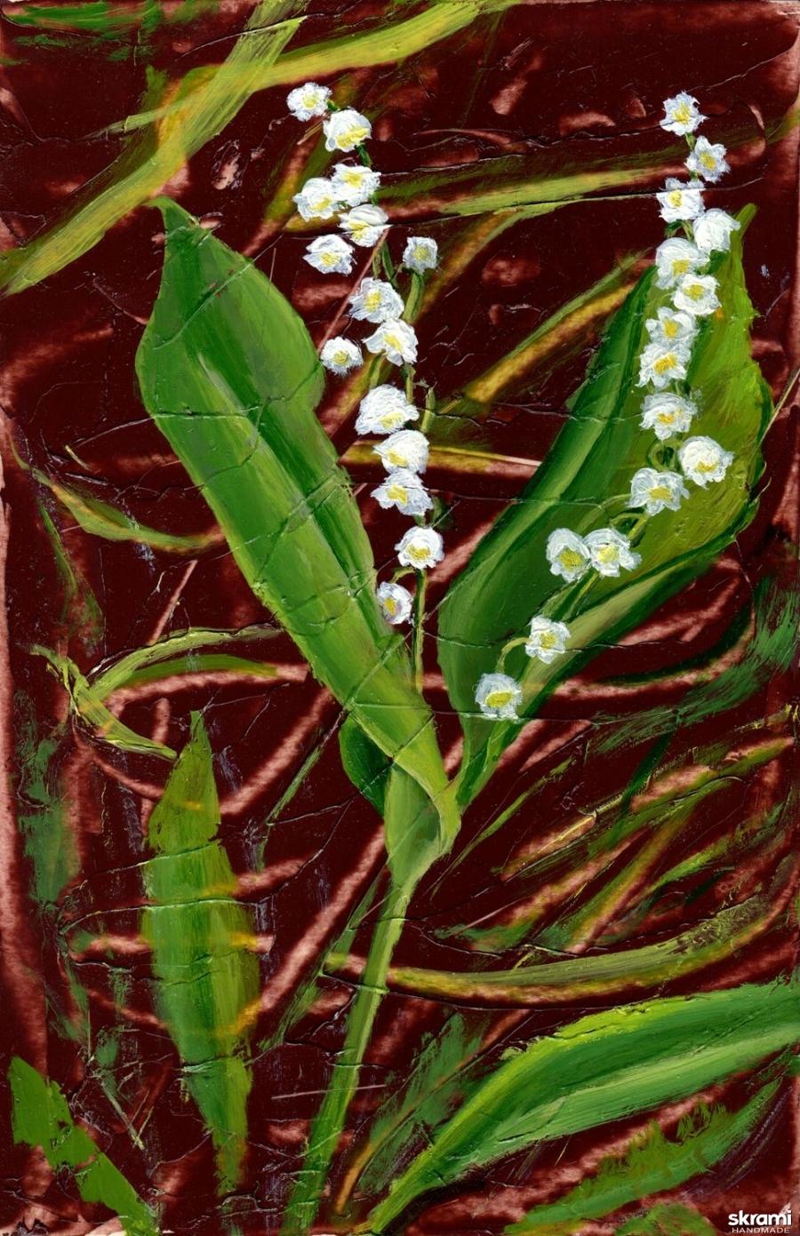 тут изображено Ландыш The Lily of the Valley