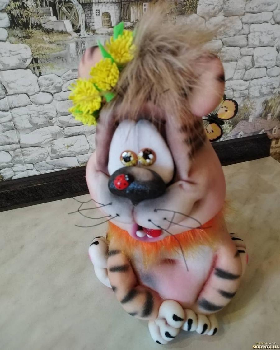 тут изображено Сувенирный Тигруля
