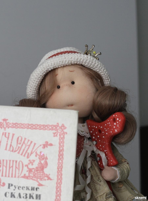 Королевишна интерьерная текстильная кукла