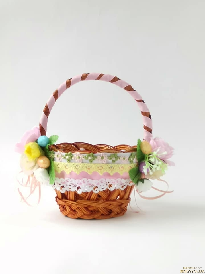 pictured here Children′s Easter basket.