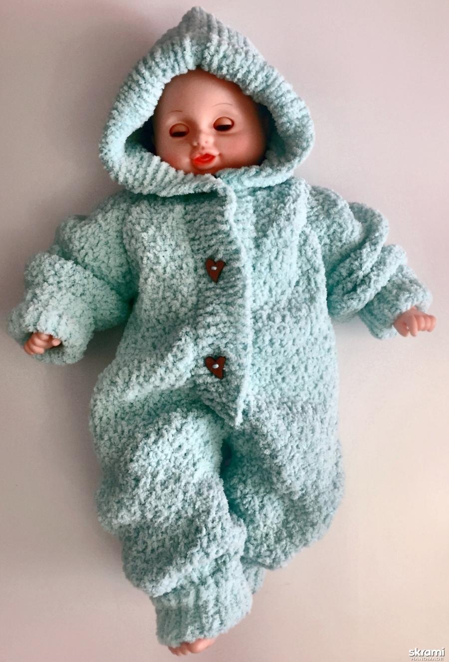 тут изображено Плюшевый комбинезон для малышей от 0-3 месяцев