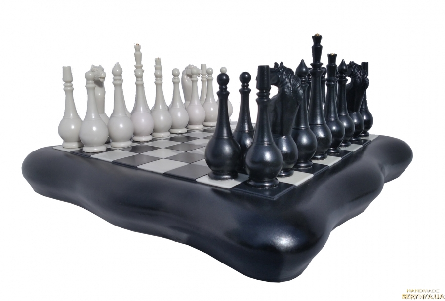 pictured here Handmade chess