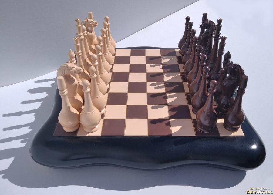pictured here chess