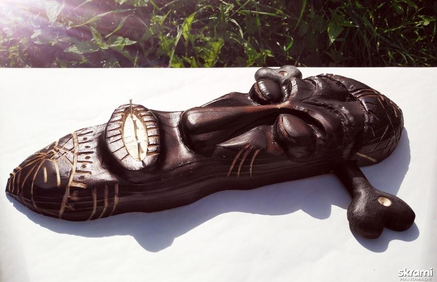 Ключница в стиле майя.