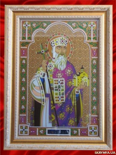 тут изображено ікона рівноапостольного князя Володимира
