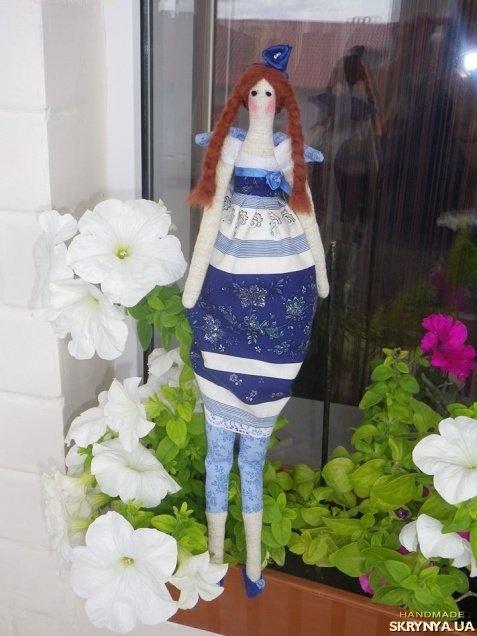 тут изображено Кукла Тильда - Фея весеннего сада