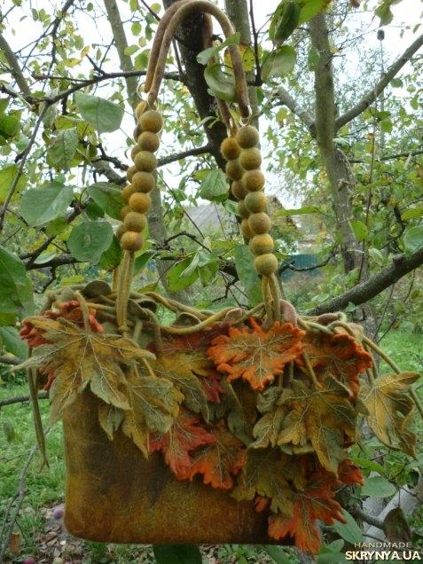 тут изображено Сумка «Осень золотая»