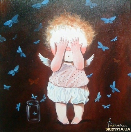 тут изображено «Метелики »