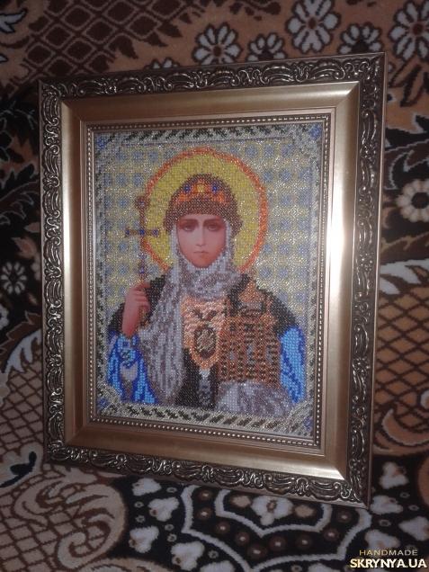 тут изображено «Свята Княгиня Ольга»