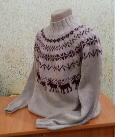 тут изображено Исландский свитер (лопапейса)