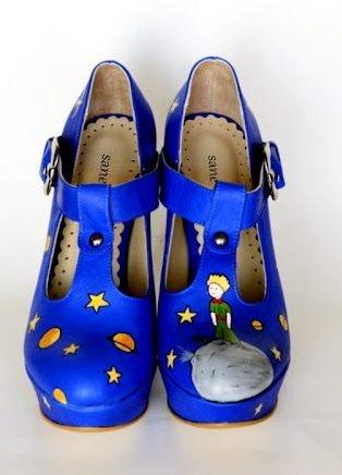 тут изображено Росспись обуви 3