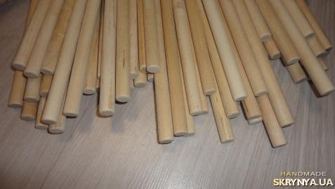 тут изображено 8 мм Палочки деревянные круглые