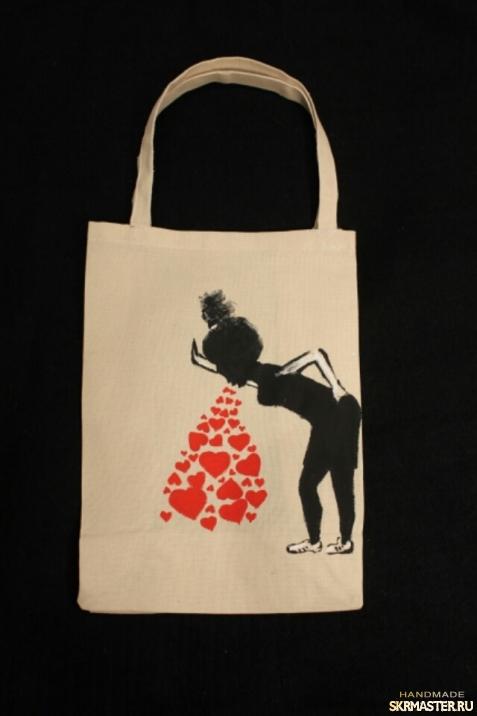 тут изображено Эко сумка