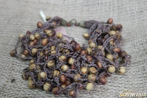 тут изображено намисто деревяне ′АРАХІС′