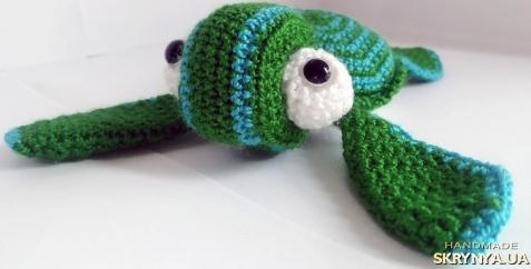 тут изображено Морская черепаха