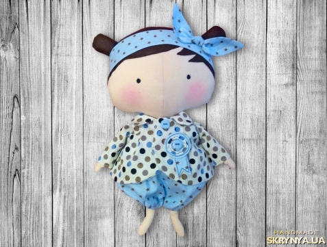 тут изображено Милая Кукла Тильда
