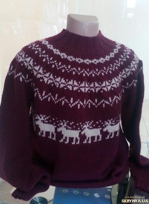 тут изображено Исландский свитер