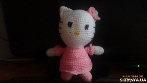 тут изображено Киця Hello Kitty 23 см