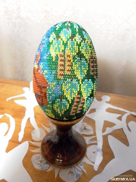 тут изображено Пасхальное яйцо.