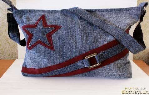 pictured here сумка джинсовая