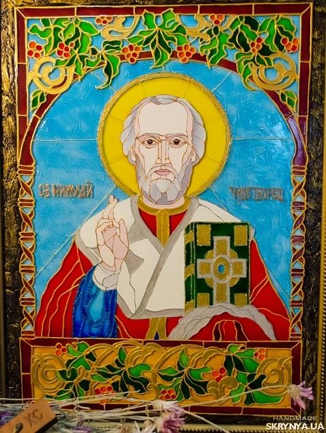 тут изображено Икона св. Николая Чудотворца