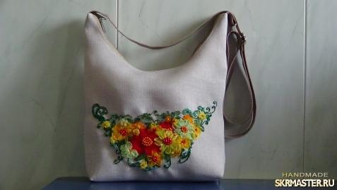 тут изображено Текстильная сумка ′Лето′