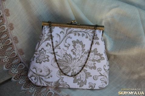 pictured here Текстильная сумка с фермуаром