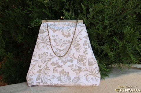 Текстильная сумка с фермуаром