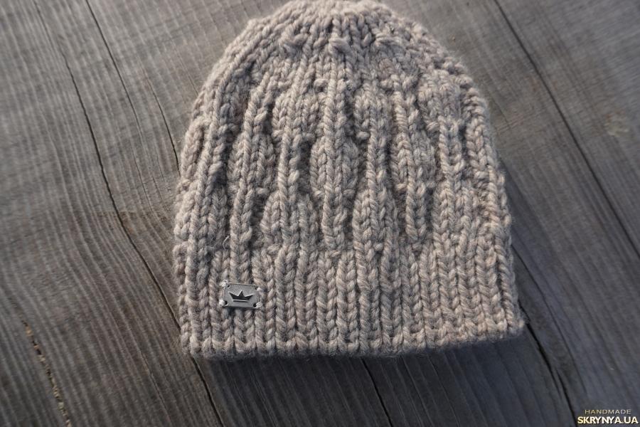 тут изображено Тепла шапоча для малюка