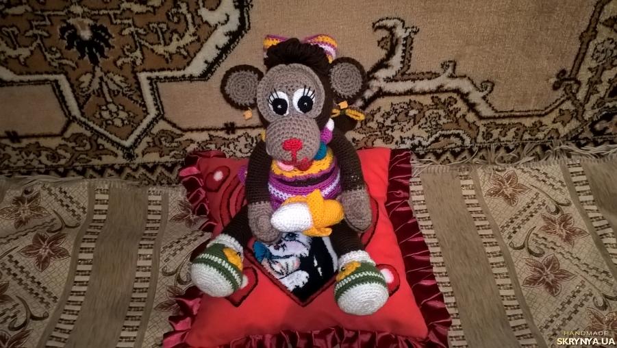 тут изображено Мавпочка