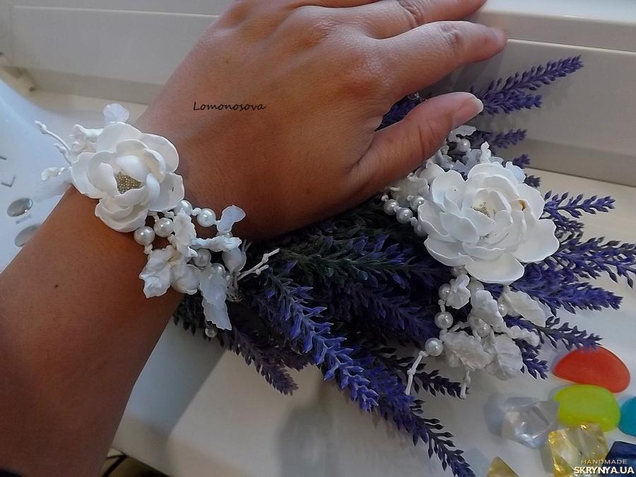тут изображено Комплект ′Белоснежная невеста′
