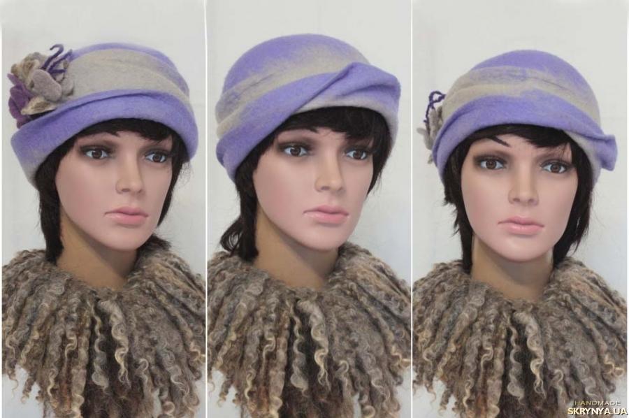тут изображено ′Илона′ - шляпка - авторский войлок