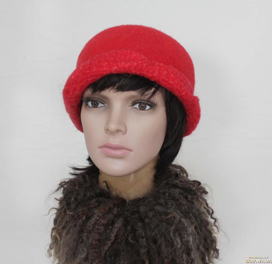 тут изображено Панацея - шляпка – авторский войлок, ручная работа.