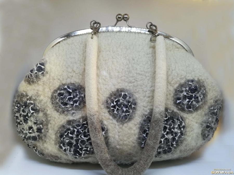 тут изображено ′Любимая′ - сумка - авторский войлок, нуновойлок