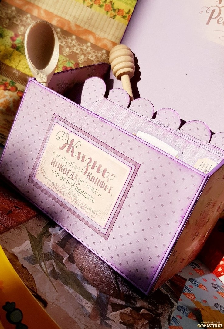 тут изображено Кулинарная коробочка
