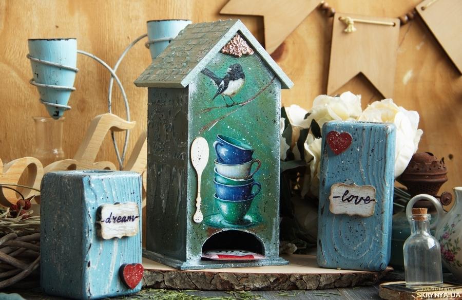 тут изображено Чайный домик ′Бирюзовое настроение′