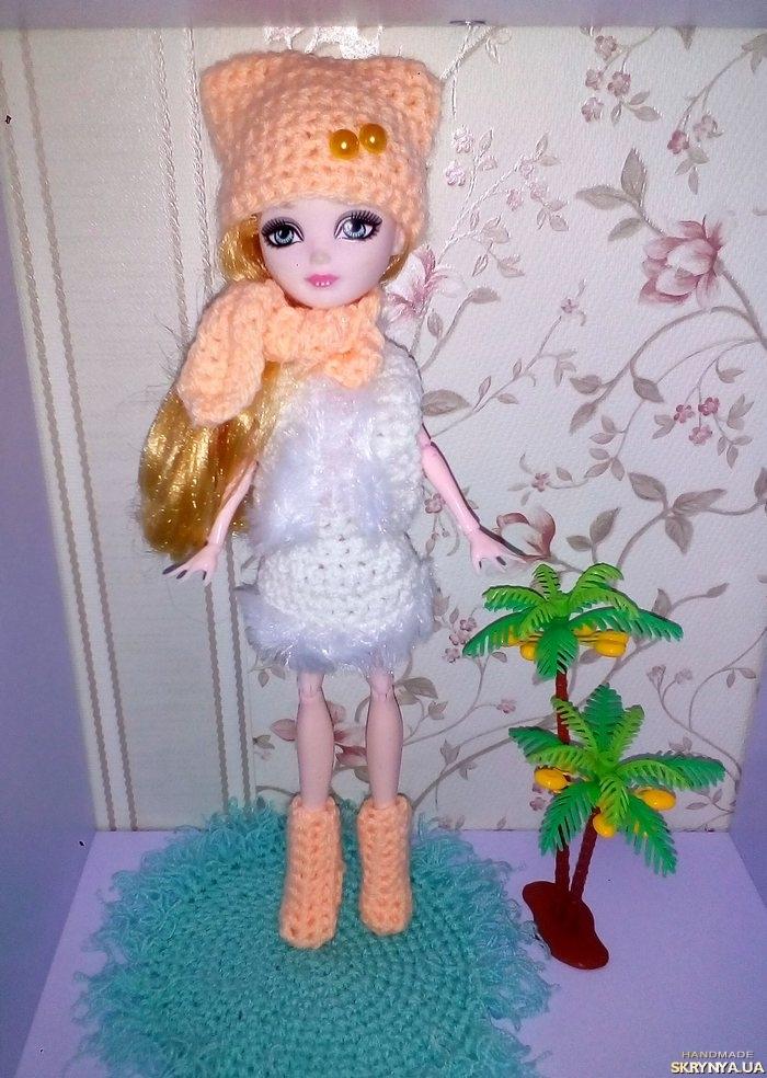 тут изображено Одежда для кукол Монстер Хай, Эвер Хай.