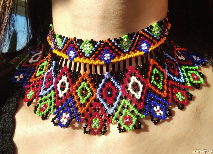 pictured here Ethnical Necklace