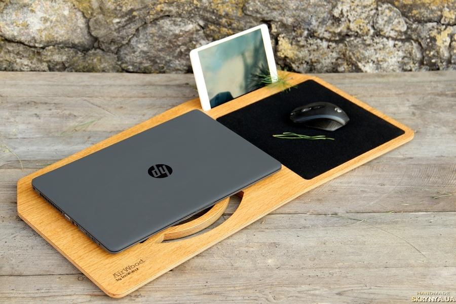 тут изображено Подставка Для Ноутбука Планшета Смартфона Macbook Підставка Для Ноутбука