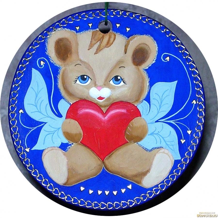 тут изображено Подвеска настенная ′Любящее сердце′