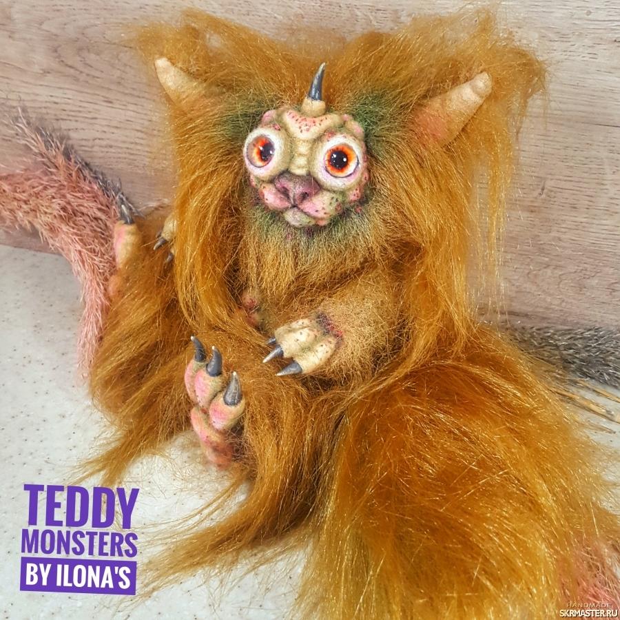 тут изображено Тедди монстрик