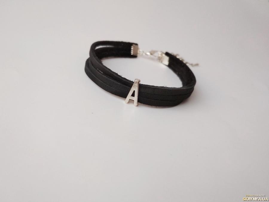 тут изображено Кожаный браслет ′Alana′